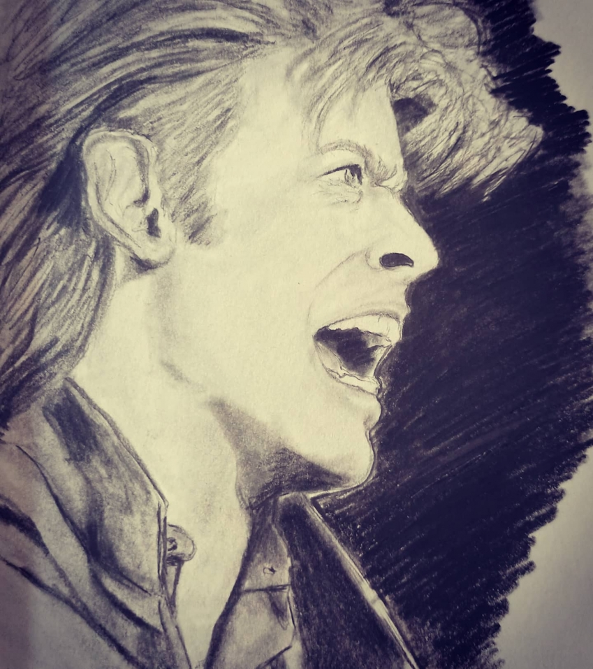 David Bowie by aurore.clement
